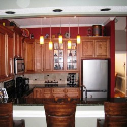 kitchen remodel, granite countertop, lighting