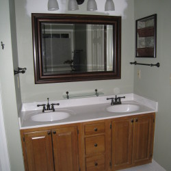 Bathroom remodel before picture