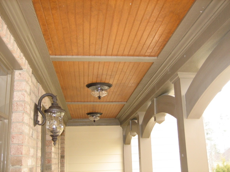 Porches for Balcony ceiling