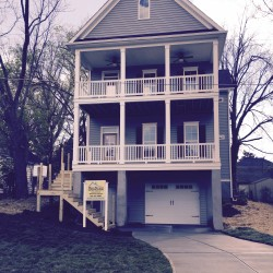 Custom Home built in Downtown Raleigh