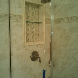 shower, custom tile