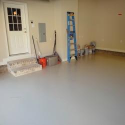 Custom Garage and painted floor
