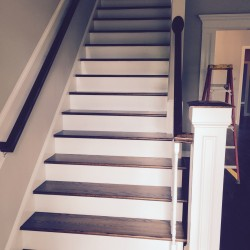 Custom Stair Railing - Front View