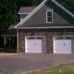 Custom 2 door garage
