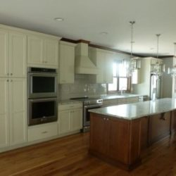 Custom kitchen with plenty of cabinets